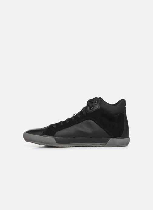 Sneaker Geox U KAVEN high schwarz ansicht von vorne