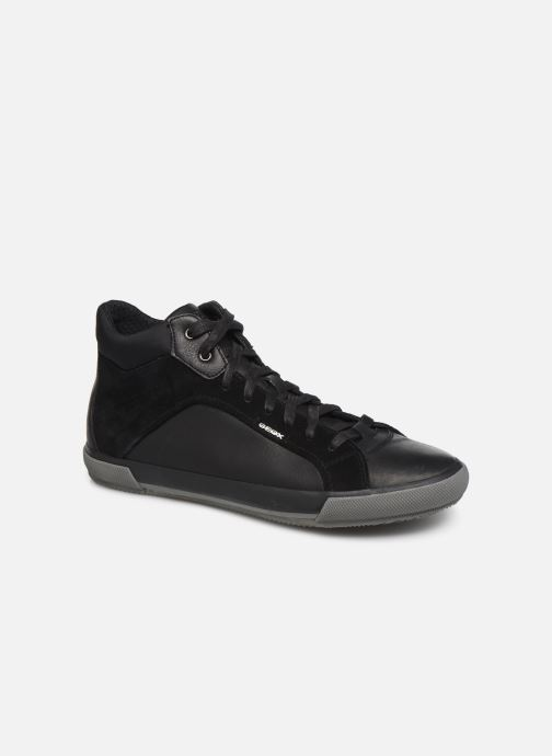 Trainers Geox U KAVEN high Black detailed view/ Pair view