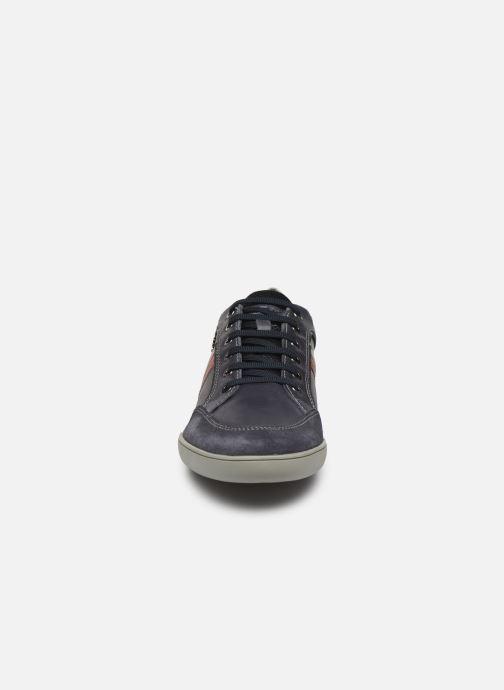 Baskets Geox U KRISTOF Bleu vue portées chaussures