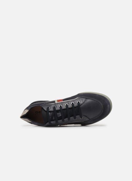 Sneakers Geox U KRISTOF Blå se fra venstre