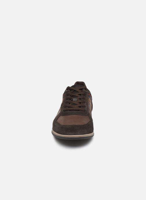 Baskets Geox U RENAN Marron vue portées chaussures