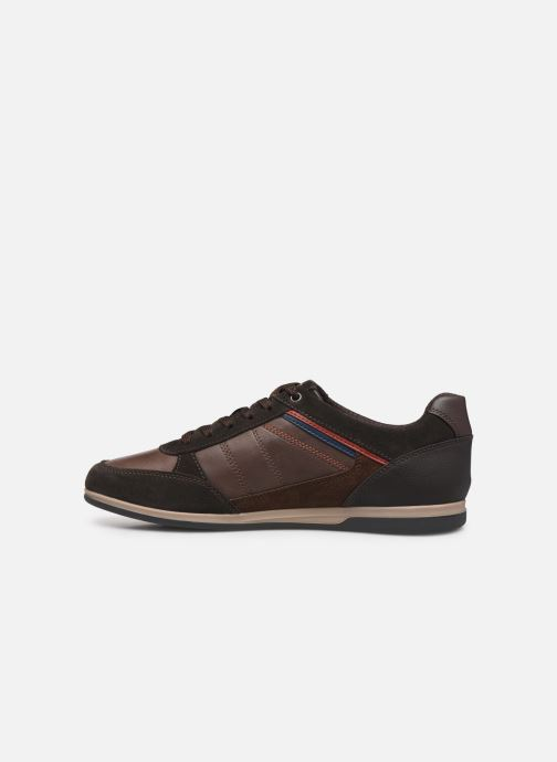 Trainers Geox U RENAN Brown front view