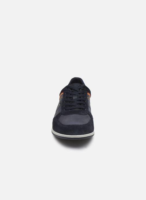 Sneaker Geox U RENAN blau schuhe getragen
