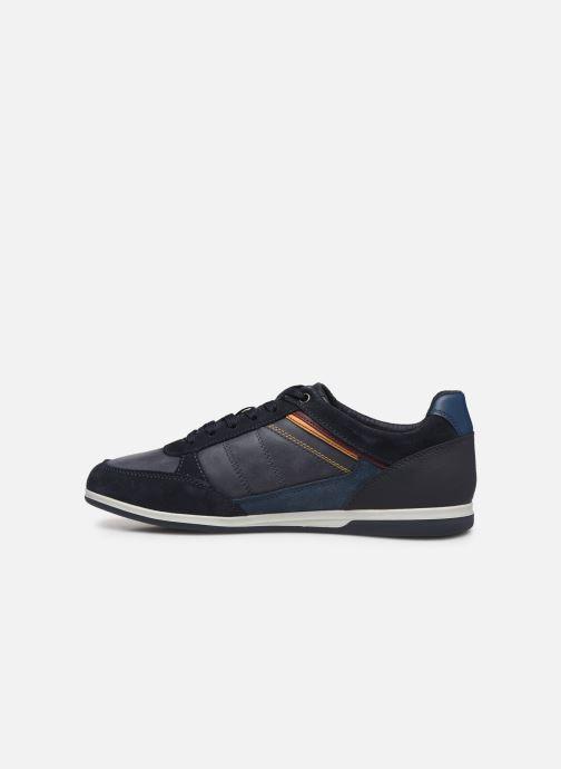 Sneaker Geox U RENAN blau ansicht von vorne