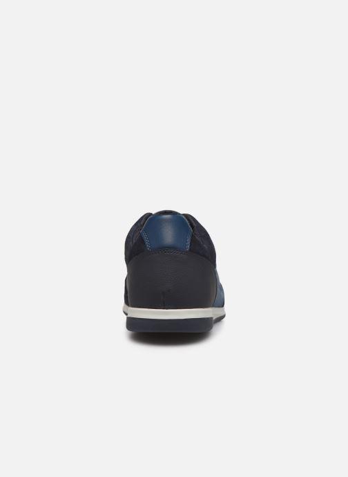 Sneaker Geox U RENAN blau ansicht von rechts