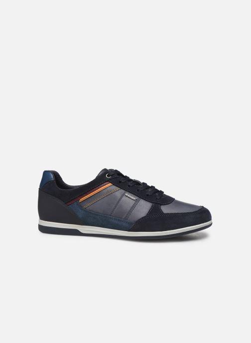 Sneaker Geox U RENAN blau ansicht von hinten