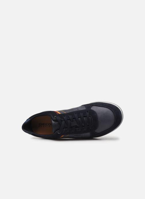 Sneaker Geox U RENAN blau ansicht von links