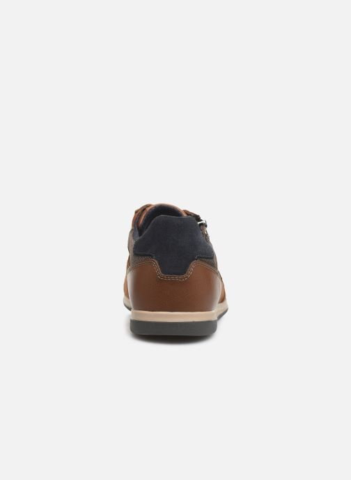 Trainers Geox U RENAN Brown view from the right