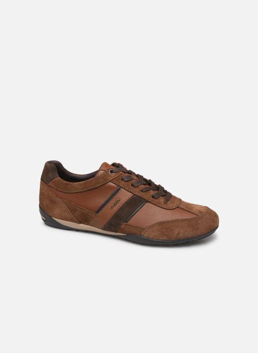 Sneakers Geox U WELLS Brun detaljeret billede af skoene