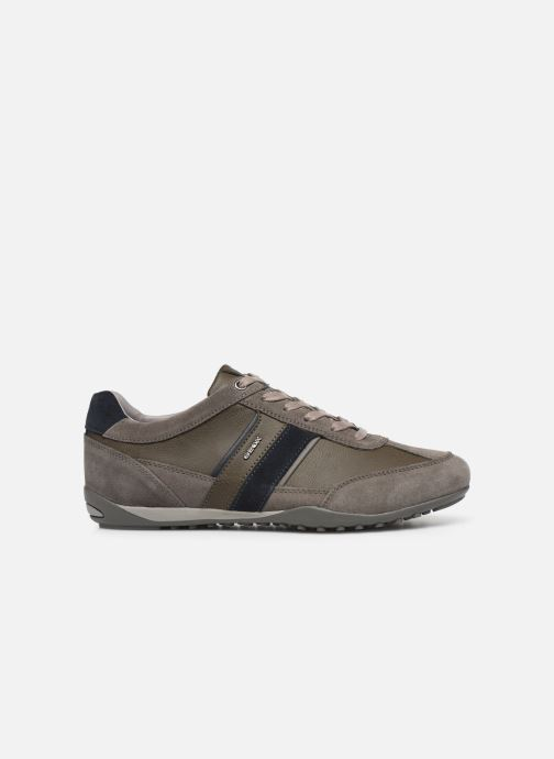 Trainers Geox U WELLS Grey back view