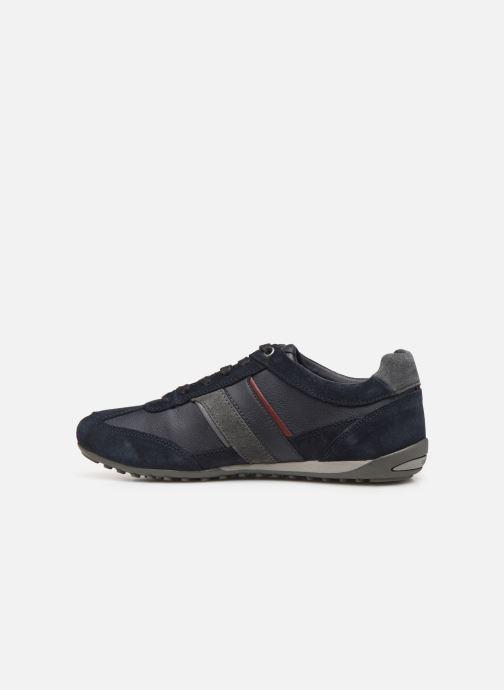 Sneakers Geox U WELLS Azzurro immagine frontale