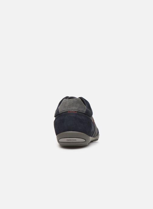Baskets Geox U WELLS Bleu vue droite