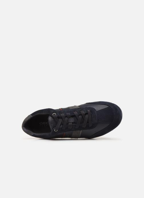Sneakers Geox U WELLS Azzurro immagine sinistra