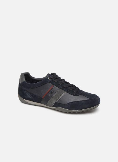 Sneakers Geox U WELLS Blauw detail