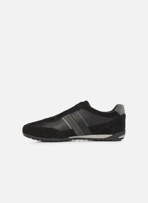 Sneakers Geox U WELLS Sort se forfra