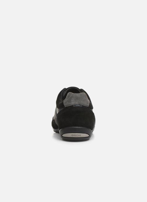 Sneakers Geox U WELLS Zwart rechts