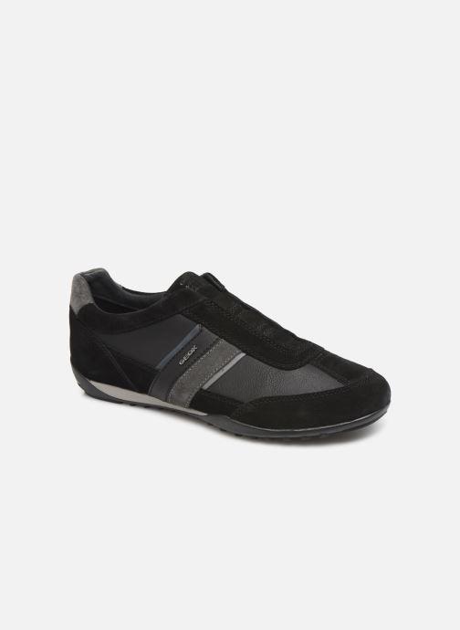 Sneakers Geox U WELLS Sort detaljeret billede af skoene