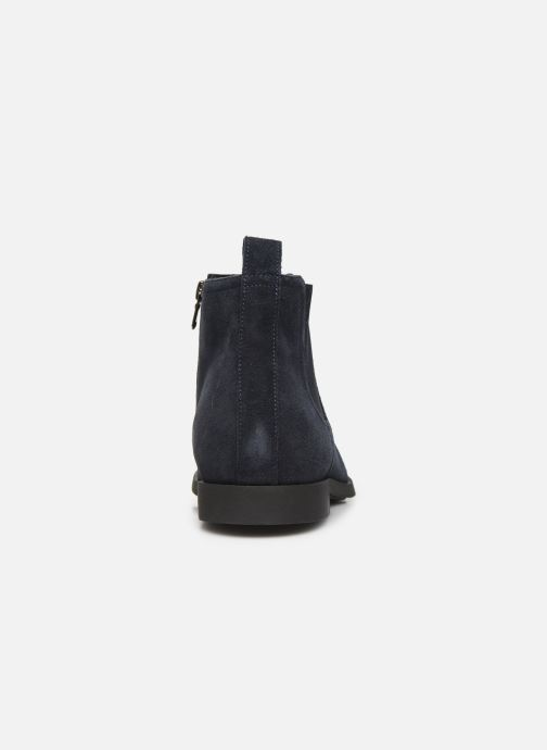 Ankle boots Geox U KASPAR Blue view from the right