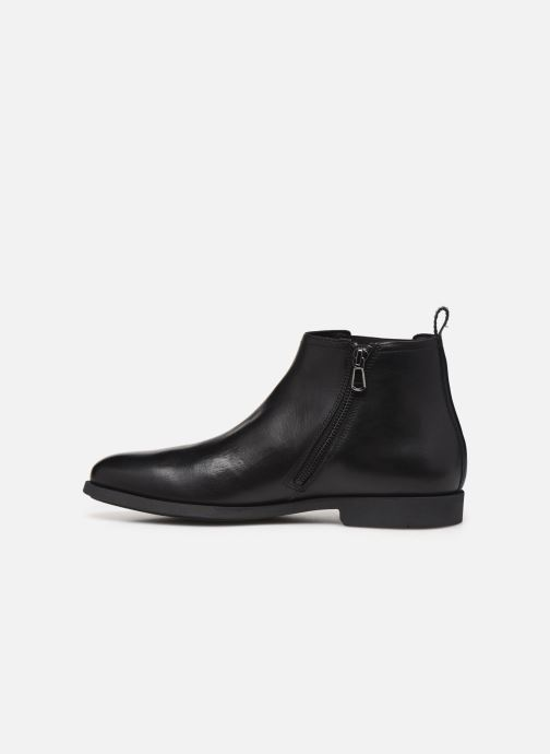 Ankle boots Geox U KASPAR Black front view
