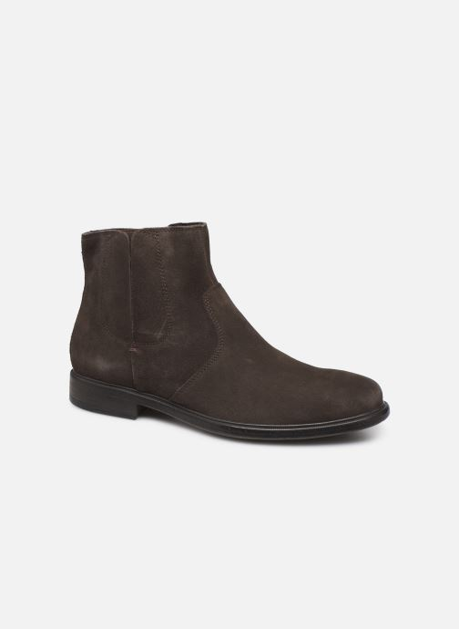Ankle boots Geox U TERENCE boots Brown detailed view/ Pair view