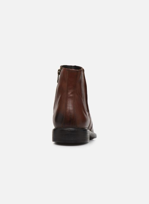Ankle boots Geox U TERENCE high Brown view from the right