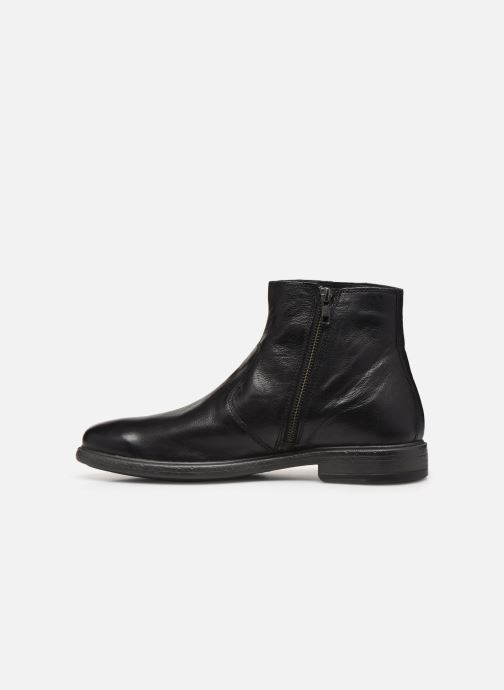 Ankle boots Geox U TERENCE   boots Black front view