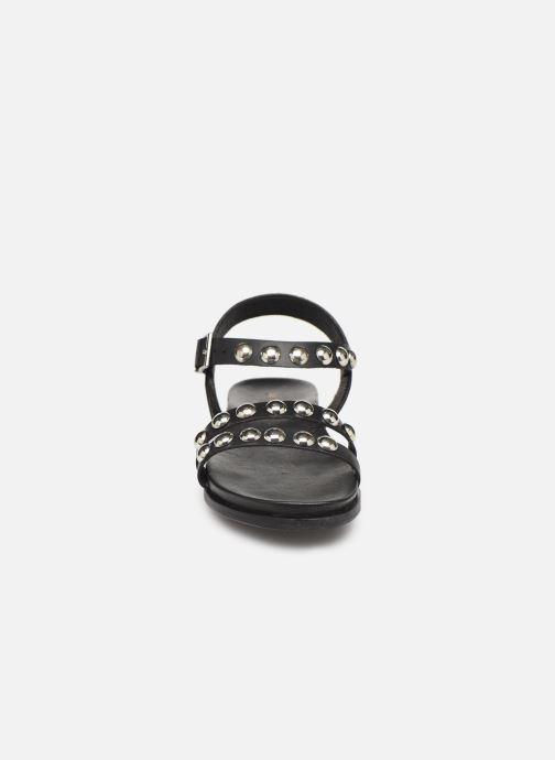 Sandalen Les Tropéziennes par M Belarbi Galiza schwarz schuhe getragen