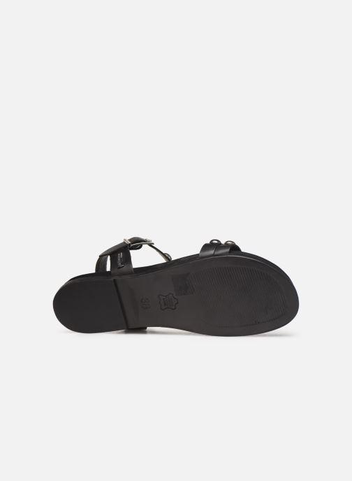 Sandals Les Tropéziennes par M Belarbi Galiza Black view from above