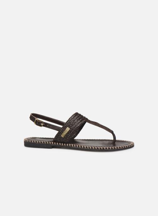 Sandalen Les Tropéziennes par M Belarbi Opper braun ansicht von hinten