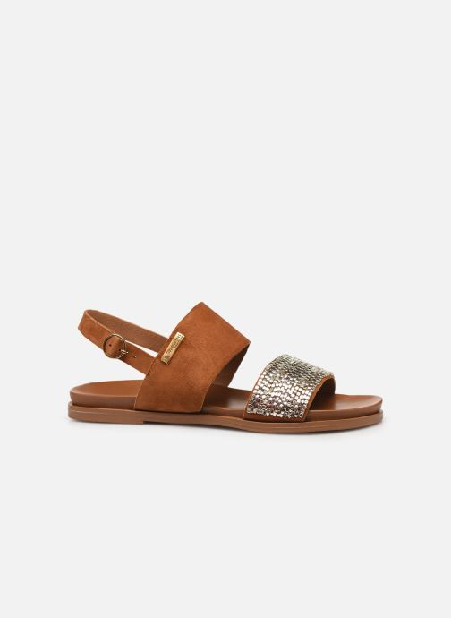 Sandales et nu-pieds Les Tropéziennes par M Belarbi Gyma Marron vue derrière