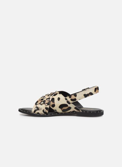 Sandales et nu-pieds Les Tropéziennes par M Belarbi Dolly Beige vue face