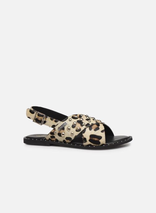 Sandales et nu-pieds Les Tropéziennes par M Belarbi Dolly Beige vue derrière