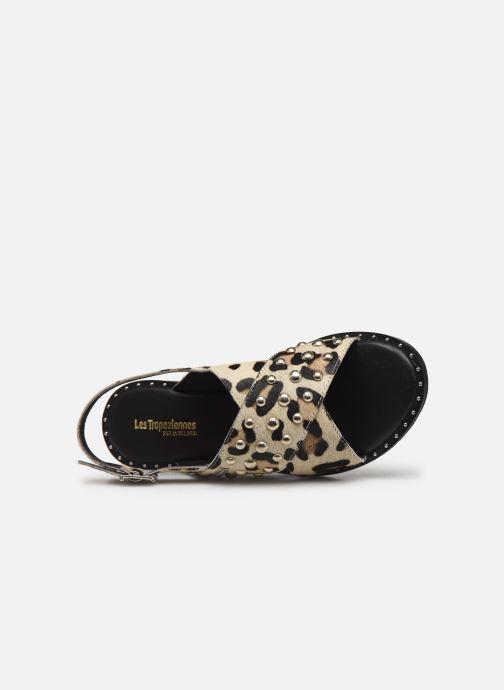 Sandales et nu-pieds Les Tropéziennes par M Belarbi Dolly Beige vue gauche