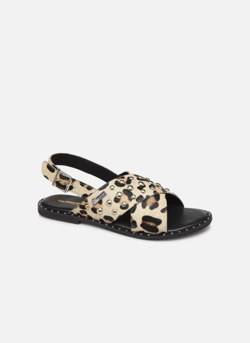 Sandales et nu-pieds Les Tropéziennes par M Belarbi Dolly Beige vue détail/paire