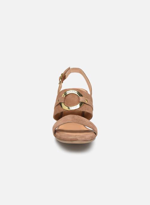 Sandals Les Tropéziennes par M Belarbi Olalia Brown model view
