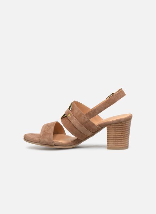 Sandals Les Tropéziennes par M Belarbi Olalia Brown front view
