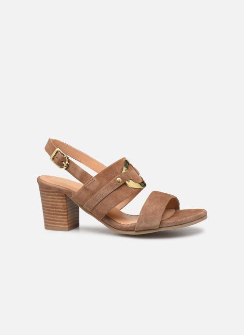Sandals Les Tropéziennes par M Belarbi Olalia Brown back view
