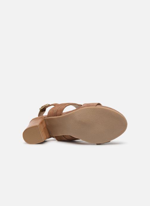 Sandals Les Tropéziennes par M Belarbi Olalia Brown view from above