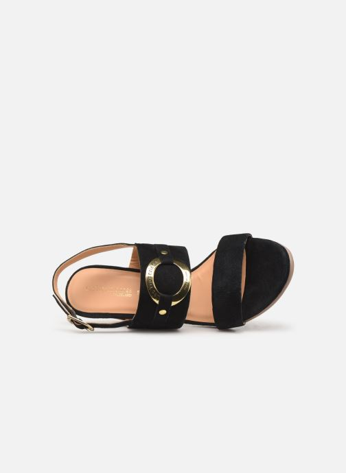 Sandals Les Tropéziennes par M Belarbi Olalia Black view from the left