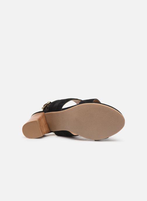 Sandals Les Tropéziennes par M Belarbi Olalia Black view from above