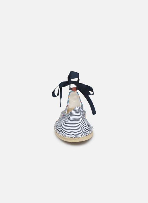 Scarpe di corda Havaianas Origine Slim Print Bianco modello indossato