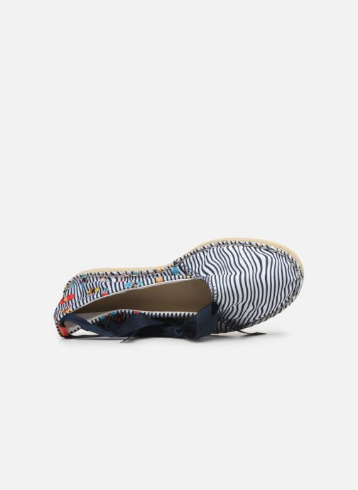 Scarpe di corda Havaianas Origine Slim Print Bianco immagine sinistra