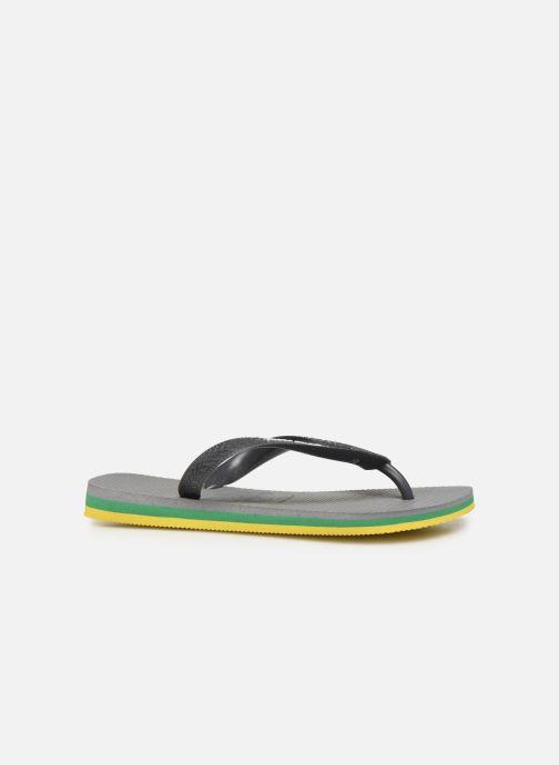 Slippers Havaianas Brasil Layers F Grijs achterkant