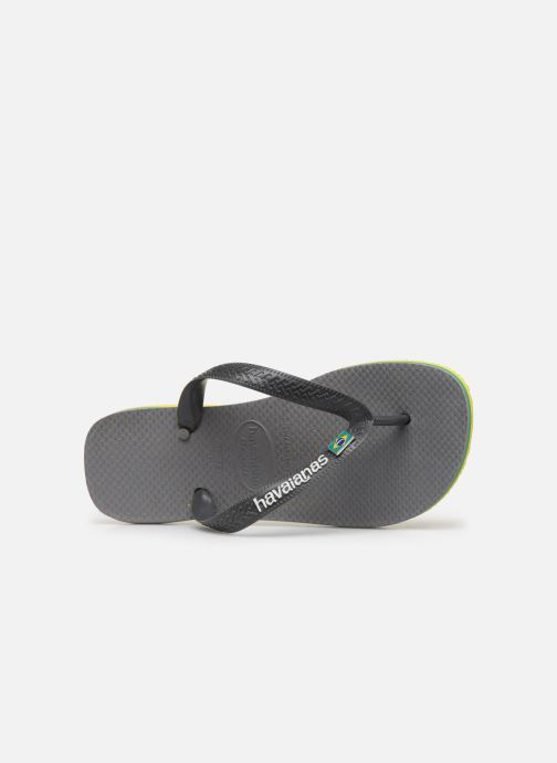 Slippers Havaianas Brasil Layers F Grijs links