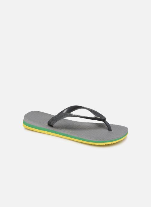 Slippers Havaianas Brasil Layers F Grijs detail