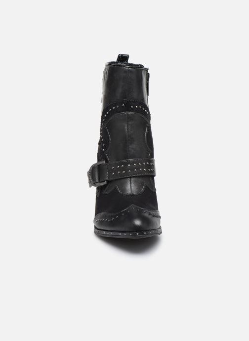 Stiefeletten & Boots Mustang shoes Salma schwarz schuhe getragen