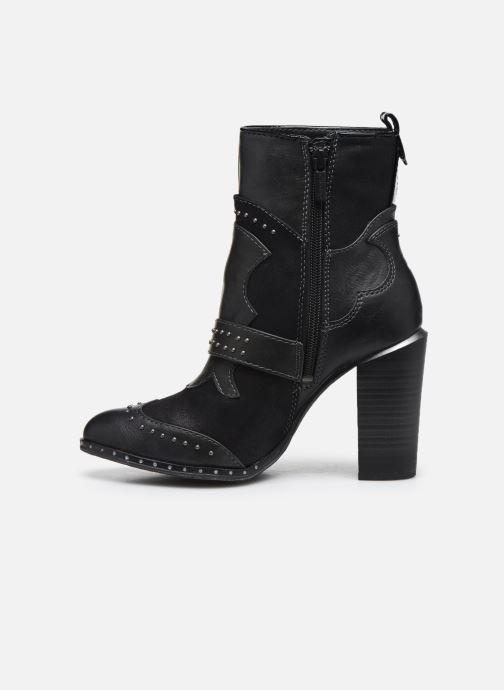 Stiefeletten & Boots Mustang shoes Salma schwarz ansicht von vorne