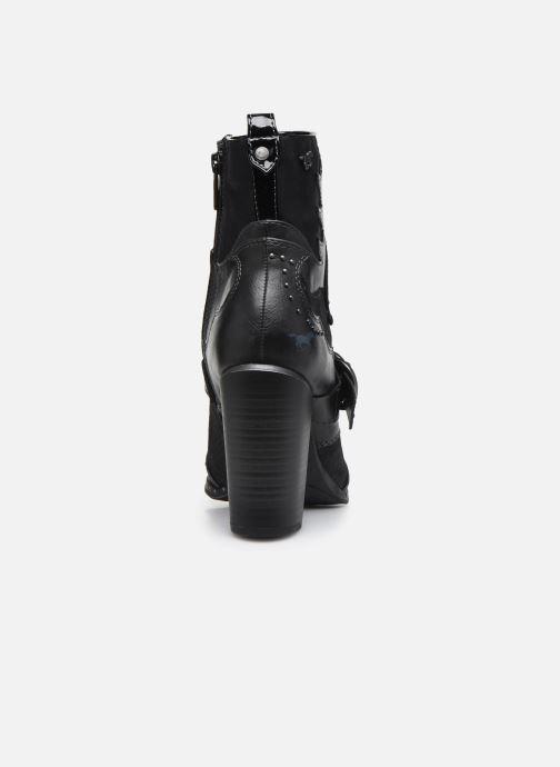 Stiefeletten & Boots Mustang shoes Salma schwarz ansicht von rechts