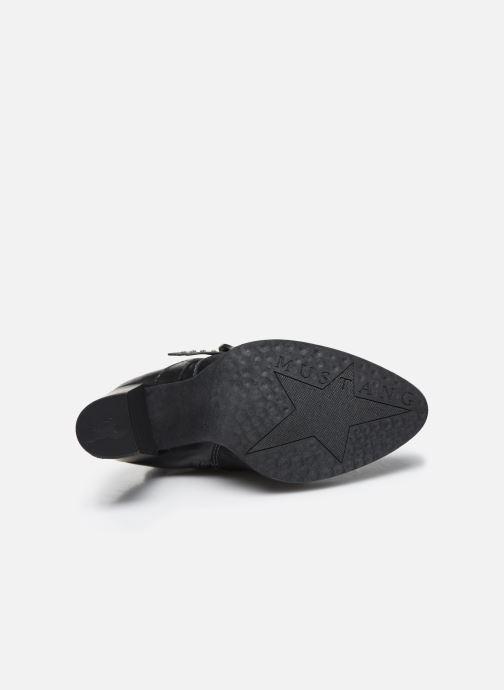 Stiefeletten & Boots Mustang shoes Salma schwarz ansicht von oben