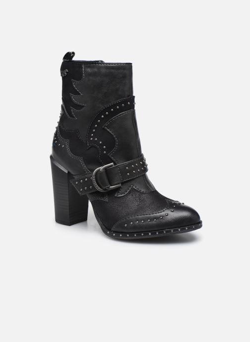 Boots en enkellaarsjes Mustang shoes Salma Zwart detail